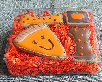 Pumpkin Pie Theme Gift Box Set