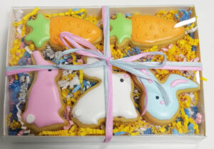 Spring Gift Box with Ribbon